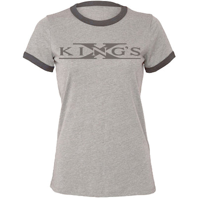 KING'S X Logo Est 1980 Ladies T-Shirt
