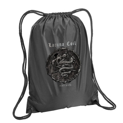LACUNA COIL Black Anima Drawstring Bag