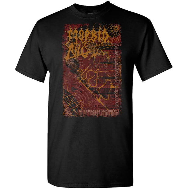 MORBID ANGEL Experiments Black T-Shirt