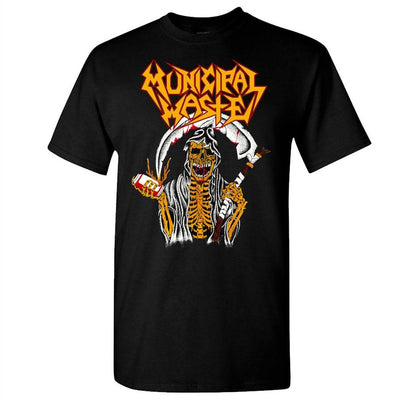 MUNICIPAL WASTE Reaper Beer Nuke Black T-Shirt