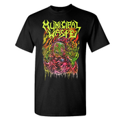 MUNICIPAL WASTE Skinner Black T-Shirt