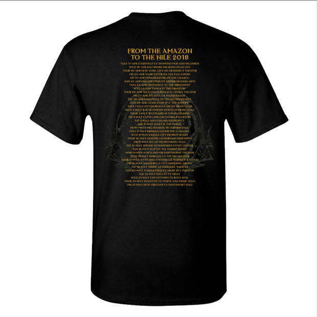 NILE What Should Not Be Gold Black T-Shirt