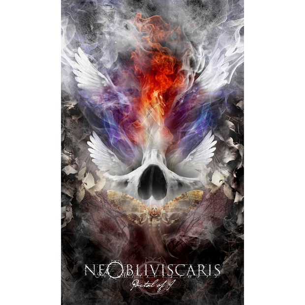 NE OBLIVISCARIS Portal Of I Wall Flag