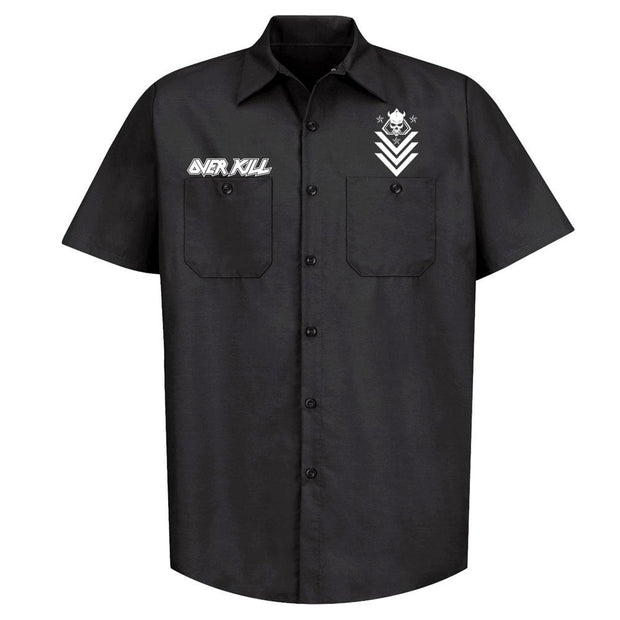 OVERKILL Logo Badge Skull Workshirt