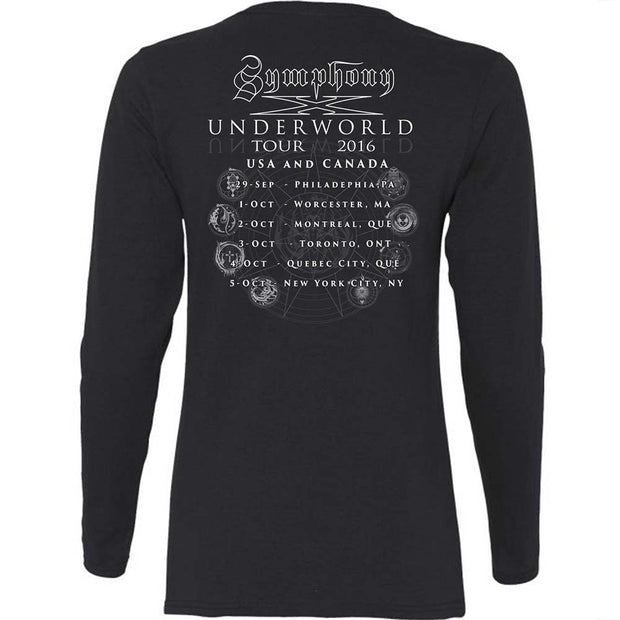 SYMPHONY X Underworld Varient Ladies Long Sleeve