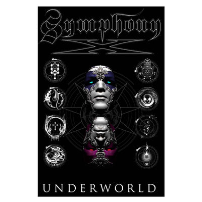 SYMPHONY X Underworld Album Cover Textile Flag