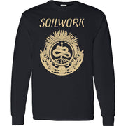 SOILWORK Snake Black Long Sleeve