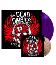 THE DEAD DAISIES Live & Louder 2 LP & CD Gatefold