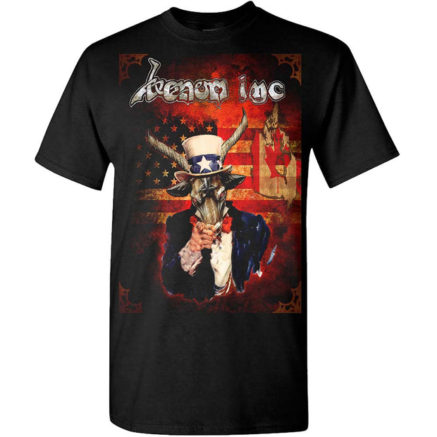 VENOM INC Sam Goat-dates 2017 T-Shirt