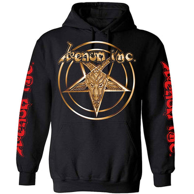VENOM INC Gold Star Logo At War Pullover