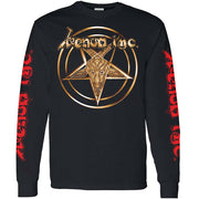 VENOM INC Gold Star Logo At War Long Sleeve