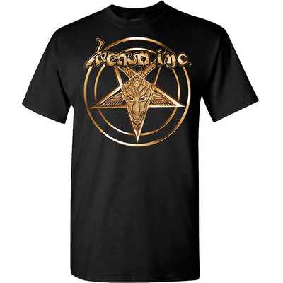 VENOM INC Gold Star Logo At War T-Shirt