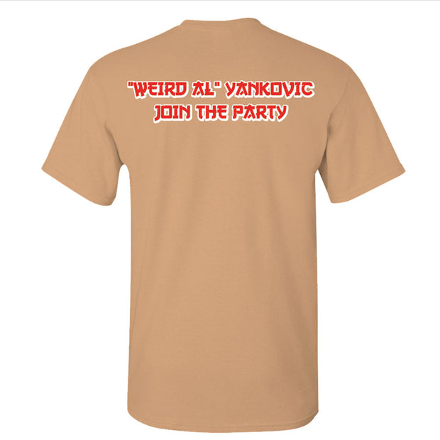 WEIRD AL YANKOVIC Wrench - Join The Party T-Shirt
