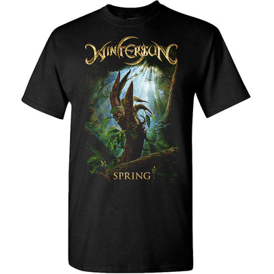 WINTERSUN Spring Born Again Black T-Shirt