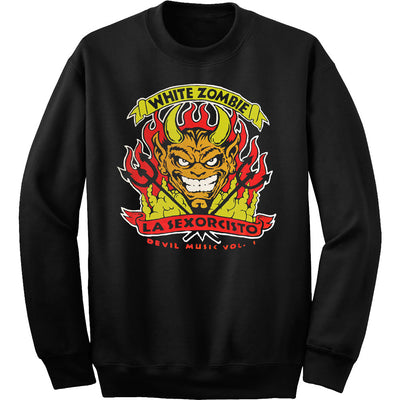 WHITE ZOMBIE Devil Music Crewneck Sweatshirt