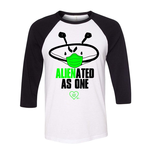 ALIEN FREAKWEAR Alienated As One Raglan