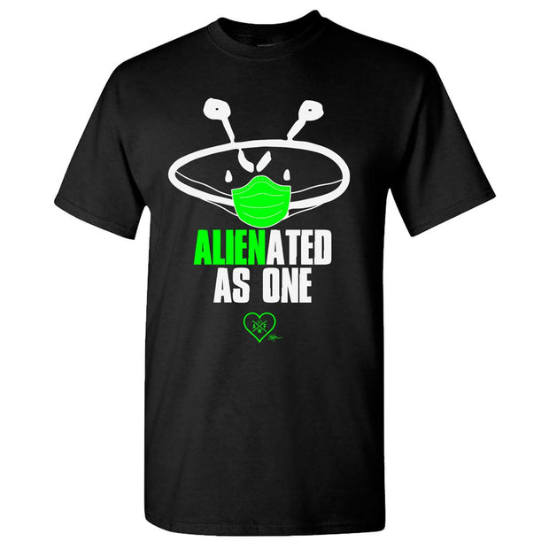 ALIEN FREAKWEAR Alienated As One Black T-Shirt