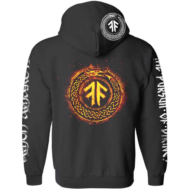 AMON AMARTH Pursuit of Vikings Zip Hoodie