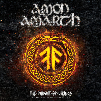 AMON AMARTH The Pursuit of Vikings 2DVD/CD Digipak