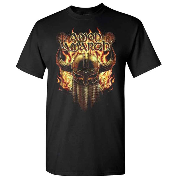 AMON AMARTH Berserker North American Tour 2019 War Helmet T-Shirt