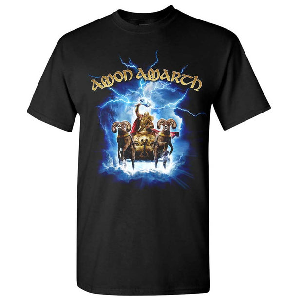 AMON AMARTH Thor Crack The Sky T-Shirt