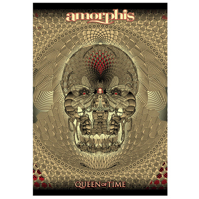 AMORPHIS Queen Of Time Black Textile Flag