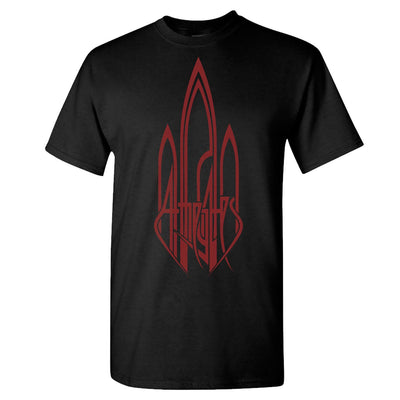 AT THE GATES Logo Red In The Sky T-Shirt