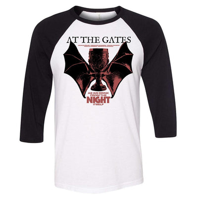 AT THE GATES Winged Chalice Raglan