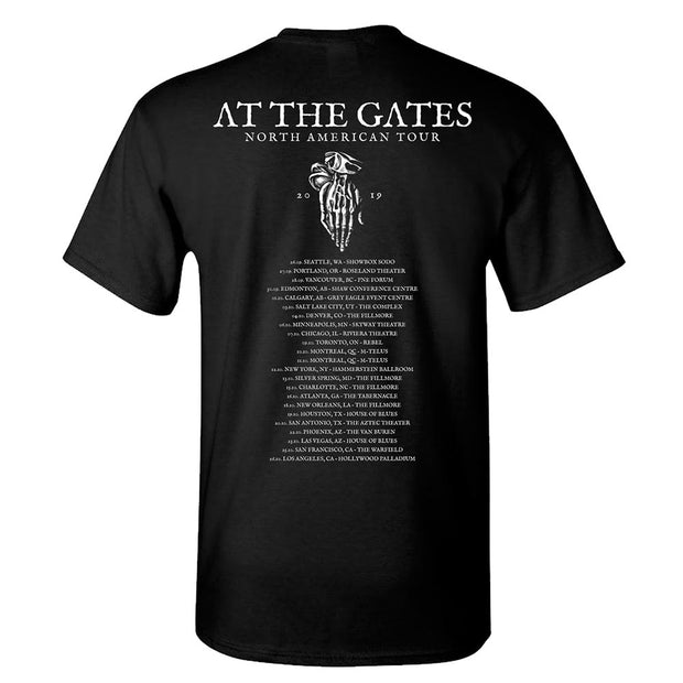 AT THE GATES Mummy Date Back T-Shirt