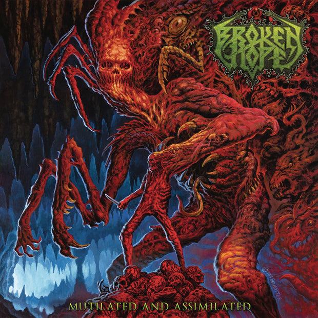 BROKEN HOPE Mutilated and Assimilated LP
