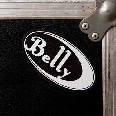 BELLY Logo Clear Sticker