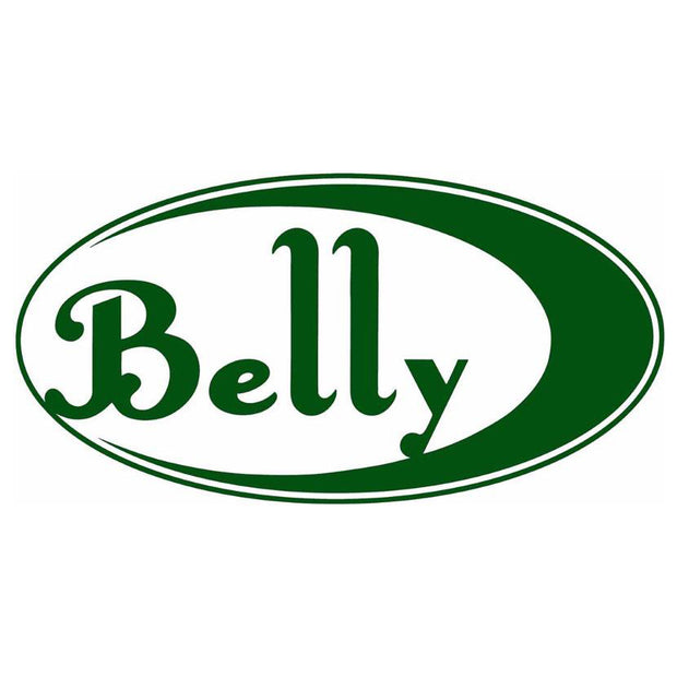 BELLY Green Logo Sticker