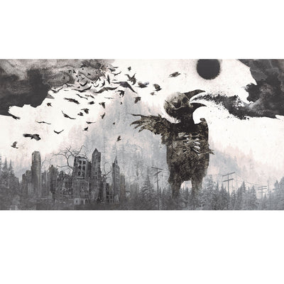 "TRAIVS SMITH Katatonia ""Dead End Kings"" Print"