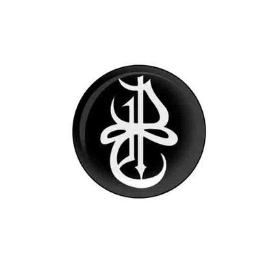 "DARK TRANQUILLITY Symbol 1.25""  Button"