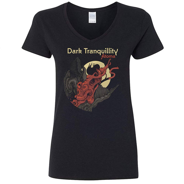 DARK TRANQUILLITY Atoma 2016 Tour Ladies T-Shirt