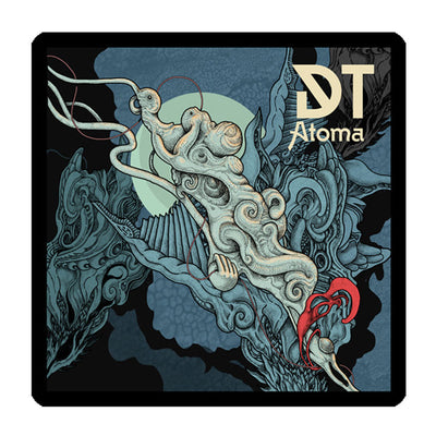"DARK TRANQUILLITY Atoma 4X4"" Printed Patch"