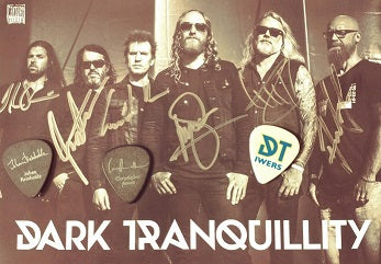 DARK TRANQUILLITY Autographed Guitar Picks - Set of 3