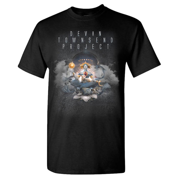 DEVIN TOWNSEND Transcendence Cover Tour Dates T-Shirt