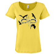 DEVIN TOWNSEND DTP Bats Logo Ladies Scoop T-shirt