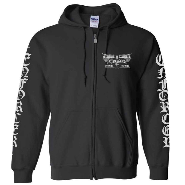 ENFORCER Death By Fire Zip Hoodie