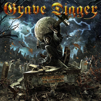GRAVE DIGGER Exhumination The Early Years CD