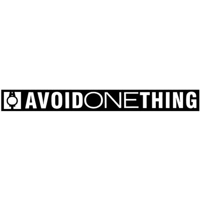 AVOID ONE THING AOT Logo Sticker
