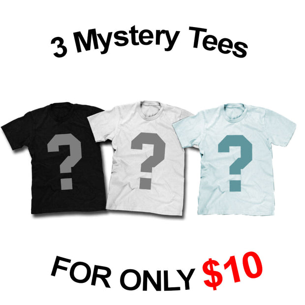 Grab Bag - 3 Shirts