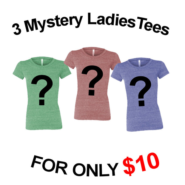 Ladies Grab Bag - 3 Shirts