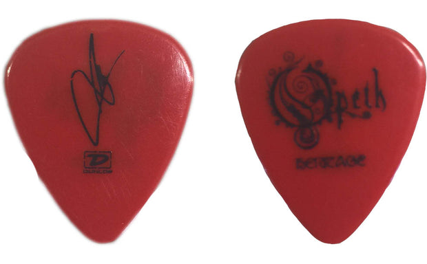 OPETH Heritage VIP Red Guitar Pick