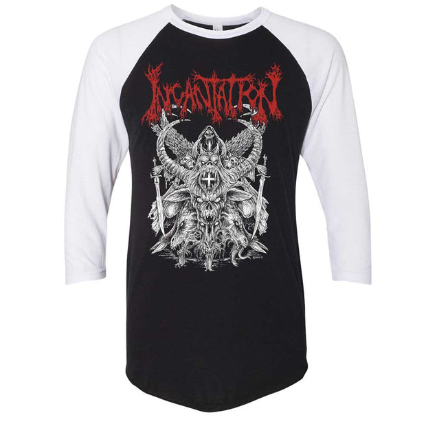 INCANTATION Demon Raglan