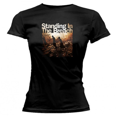 JACKSON BROWNE Standing In The Breach Ladies T-Shirt