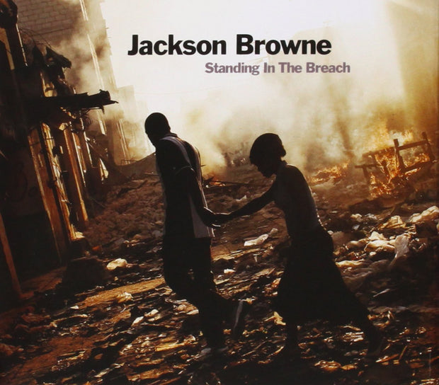 "JACKSON BROWNE Standing In the Breach 12"" Vinyl (2014) - 180 gram/2LPs"