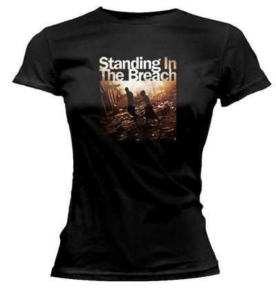 JACKSON BROWNE Standing In The Breach 2014 Tour Ladies Tee