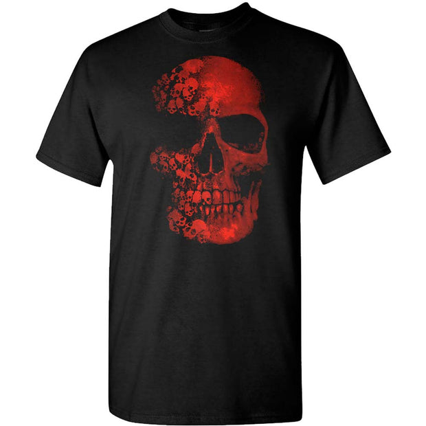 NOVELTEE Red Skull T-Shirt